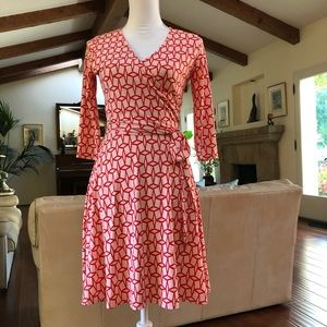 Stitch Fix Renesme Geo Cube Faux Wrap Dress